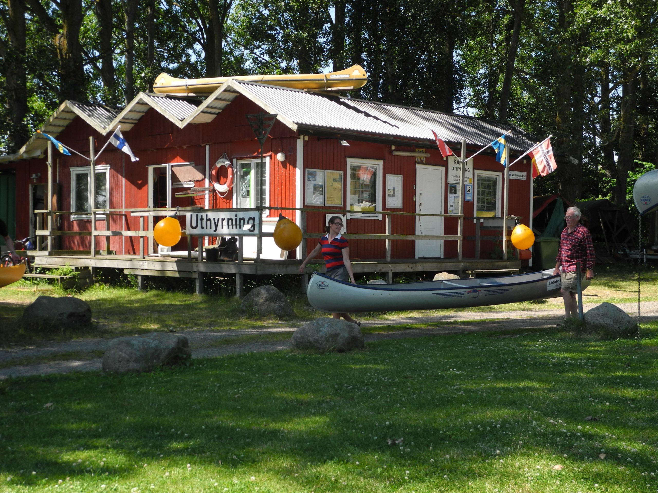 Hyra kanot på Lödde å